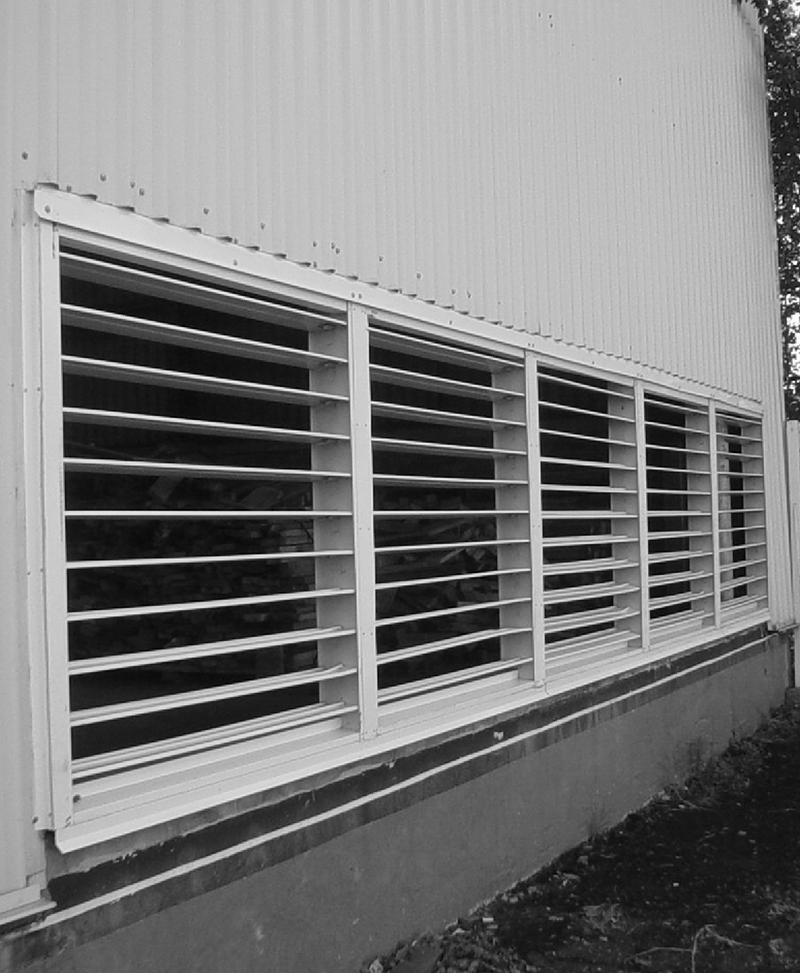 Adjustable Louvers Steel Complements